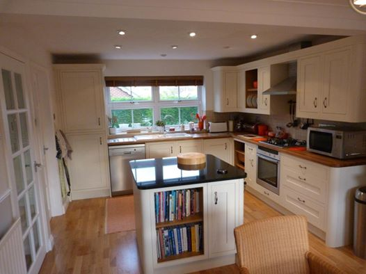 Fitted Kitchen and Engineered Timber Floor