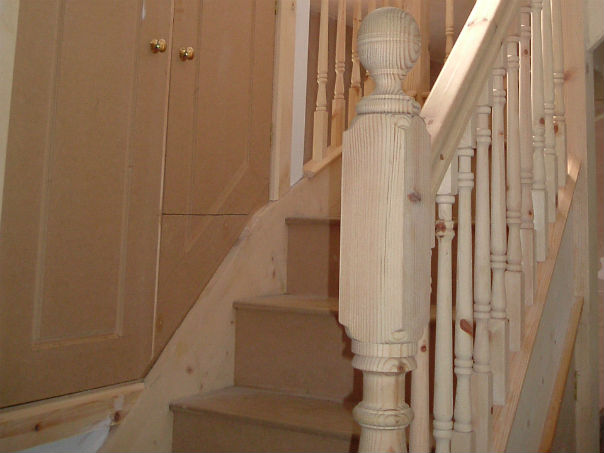 Hand Built Staircase