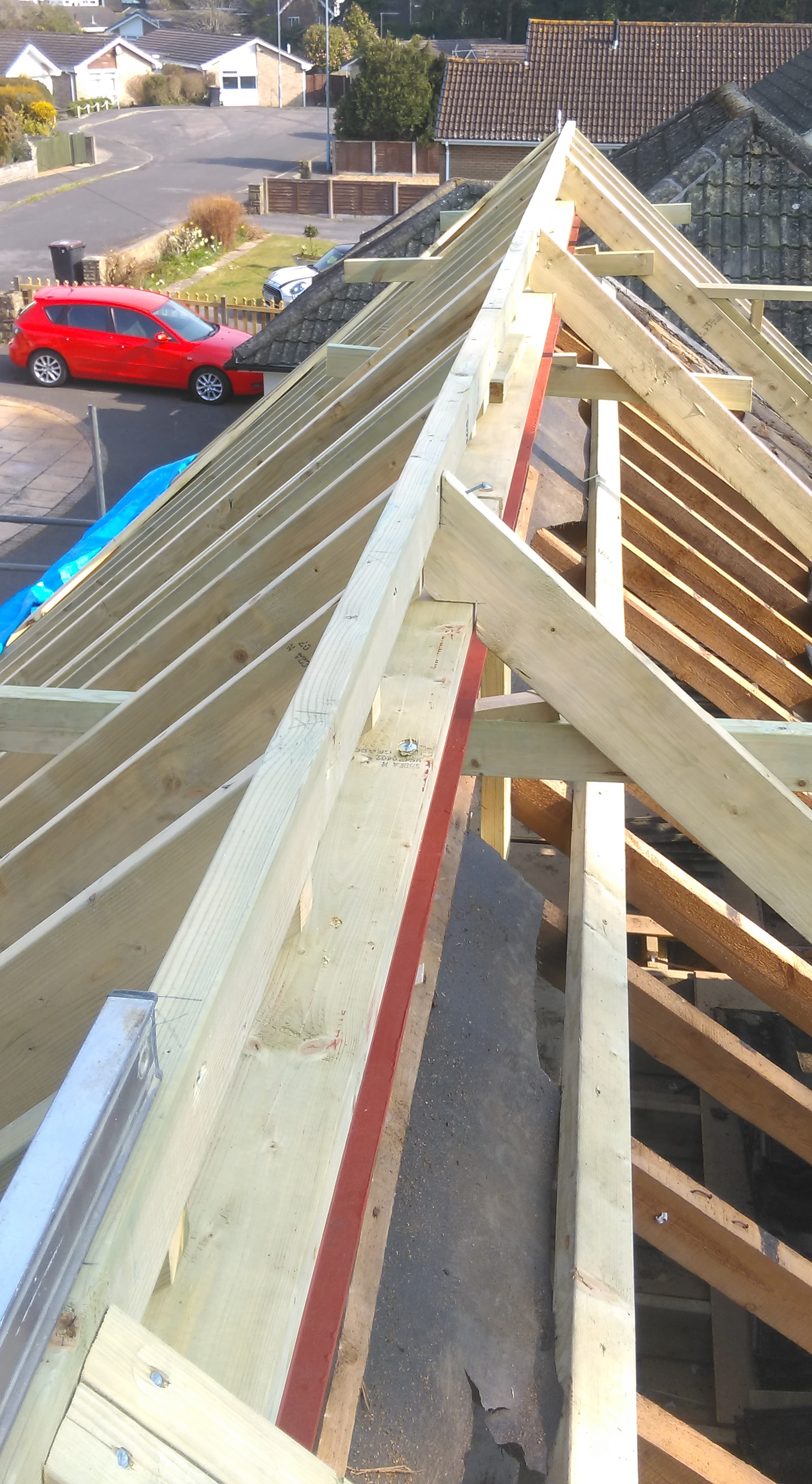 Cut Roof In Bournemouth Johnson Joinery